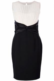 Полуприлегающее платье без рукавов Luisa Spagnoli