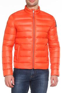 Полуприлегающая куртка с карманами Tru Trussardi
