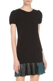 Платье с имитацией карманов TWIN-SET JEANS
