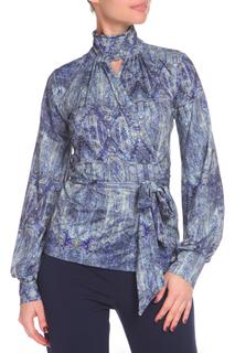 Полуприлегающая блуза с завязками Piena