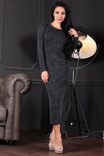 Полуприлегающее платье с округлой горловиной Laura Bettini