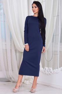 Полуприлегающее платье с разрезом Laura Bettini