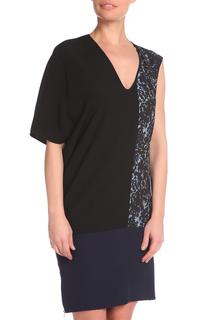 Свободное платье с разными рукавами CNC COSTUME NATIONAL