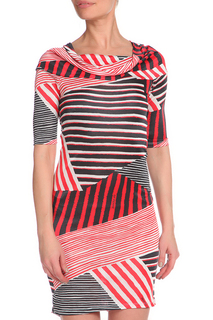 Приталенное платье с короткими рукавами GF FERRE