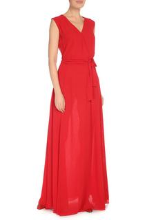 Длинное платье с V-образным вырезом CNC COSTUME NATIONAL