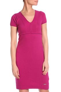 Приталенное платье с V-образным вырезом GF FERRE