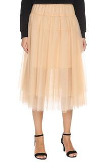 Легкое платье с поясом на резинке TWIN-SET