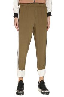 Легкие брюки с поясом на резинке TWIN-SET