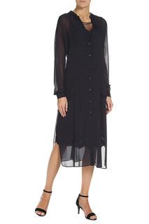 Комплект платьев: платье с длинными рукавами, платье без рукавов TWIN-SET