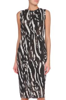Полуприлегающее платье с потайной молнией Max Mara
