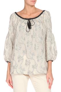 Свободная блуза с округлой горловиной Max Mara