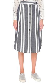 Прямая юбка с карманами Max Mara