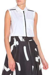 Полуприлегающая блуза с карманом Max Mara