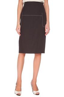 Прямая юбка с потайной молнией Max Mara