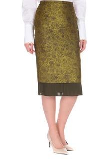 Полуприлегающая юбка с узорами Max Mara