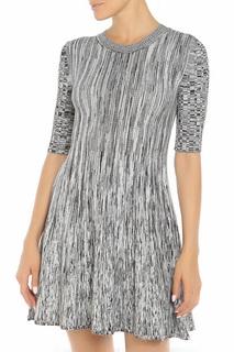 Приталенное платье с короткими рукавами SPORTMAX CODE