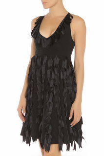 Полуприлегающее платье без рукавов SPORTMAX