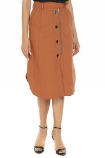 Асимметричная юбка с застежкой на молнию SPORTMAX