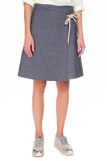 Трапециевидная юбка с карманом Max Mara
