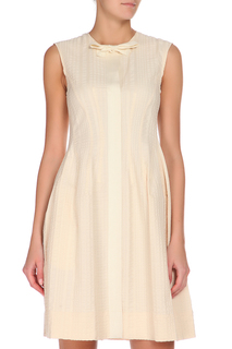 Полуприлегающее платье без рукавов Max Mara