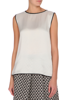 Свободная блуза без рукавов Max Mara