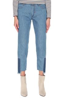 Укороченные джинсы с застежкой на молнию Max Mara