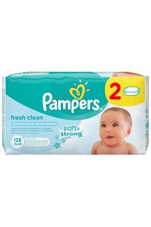 Влажные салфетки Pampers 128шт PAMPERS