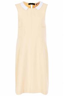 Летнее платье без рукавов с круглым вырезом N°21