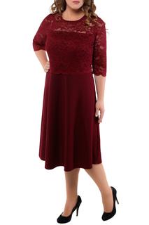Полуприлегающее платье с кружевом Dream World