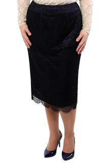 Полуприлегающая юбка с кружевом Dream World