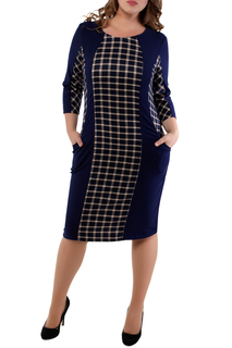 Полуприлегающее платье с карманами Dream World