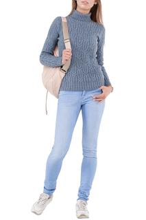 Полуприлегающий свитер с высоким воротом HAPPYCHOICE