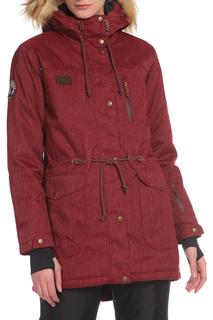 Сноубордическая куртка с ветрозащитной планкой Stayer
