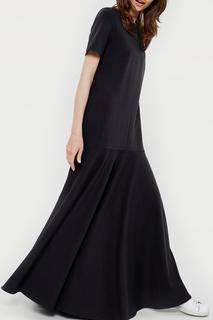 Длинное платье с короткими рукавами Lava