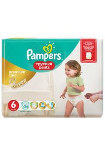 Подгузники Pampers, 36 шт PAMPERS