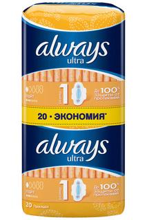 Прокладки ALWAYS Light, 20 шт ALWAYS
