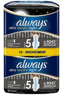 Прокладки ALWAYS Night, 12 шт ALWAYS