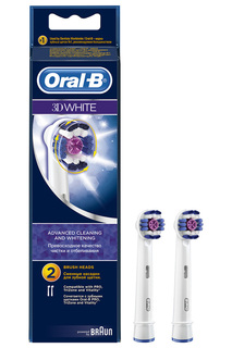 Насадки ORAL-B 3D White, 2 шт ORAL B