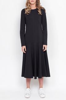 Полуприлегающее платье с длинными рукавами Lava