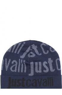 Шерстяная шапка бини Just Cavalli