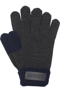 Шерстяные перчатки Just Cavalli
