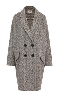 Двубортное пальто свободного кроя Isabel Marant Etoile