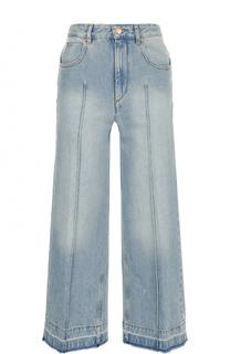 Укороченные расклешенные джинсы с потертостями Isabel Marant Etoile