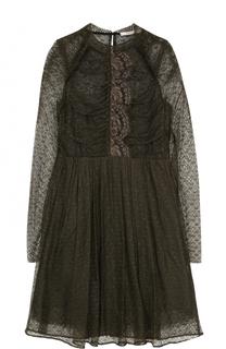 Приталенное кружевное мини-платье Dorothee Schumacher
