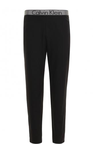 Хлопковые домашние брюки с широкой резинкой Calvin Klein Underwear
