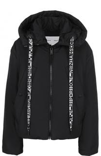 Куртка свободного кроя на молнии с капюшоном Proenza Schouler