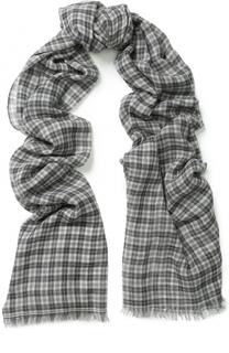 Шерстяной шарф в клетку Isabel Marant Etoile