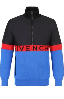 Утепленный анорак с воротником-стойкой Givenchy