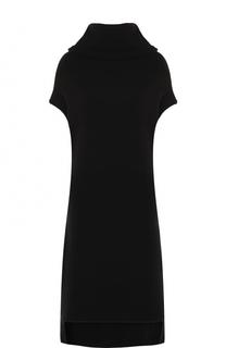 Хлопковое платье-миди свободного кроя Yohji Yamamoto