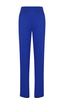 Однотонные брюки прямого кроя с эластичным поясом Givenchy